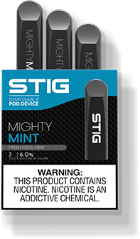 SaltNic Mighty Mint