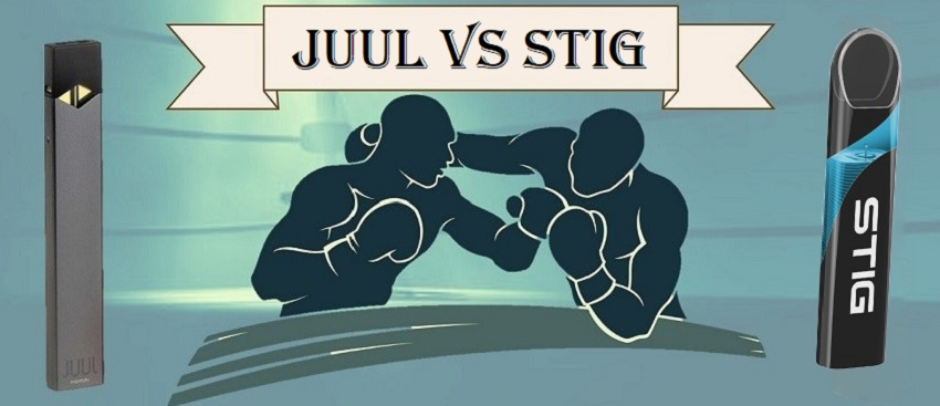 Juul Starter Kit VS Stig - Comparison