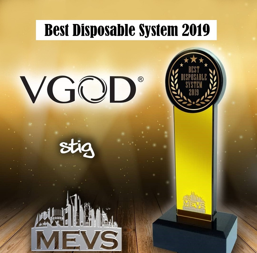 STIG Voted Best Disposable System Award At MEVS